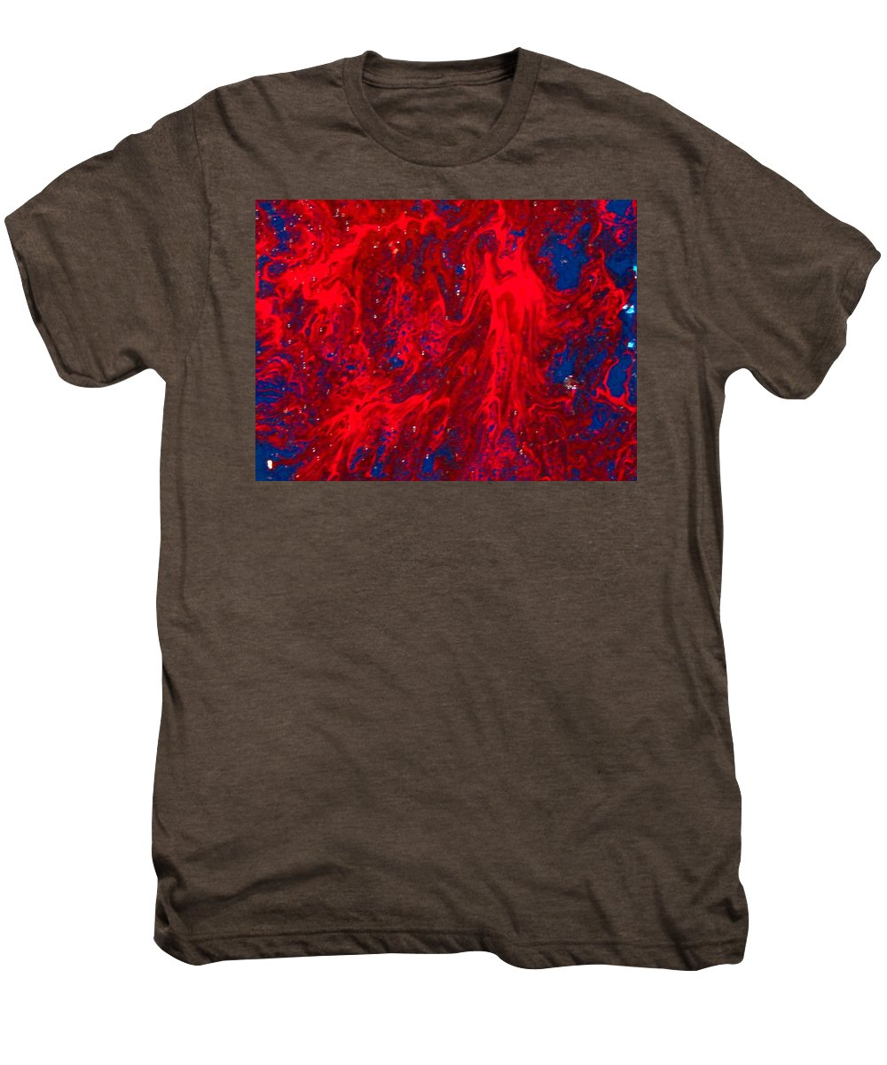 Abstract Art Men's Premium T-Shirt featuring the painting Lost Souls by Natalie Holland