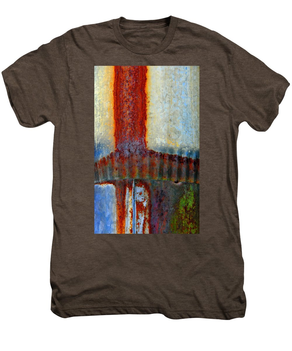 Skip Hunt Men's Premium T-Shirt featuring the photograph Magma by Skip Hunt