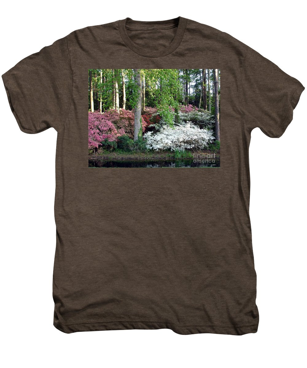 Landscape Men's Premium T-Shirt featuring the photograph Nature 2 by Shelley Jones