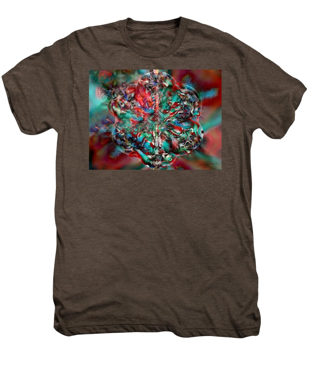 Heart Passion Life Men's Premium T-Shirt featuring the digital art Open Heart by Veronica Jackson