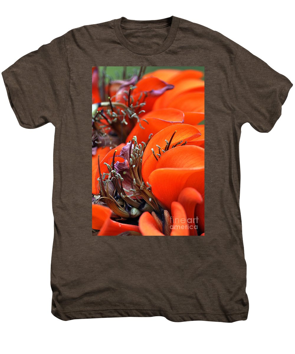 Clay Men's Premium T-Shirt featuring the photograph Orange by Clayton Bruster