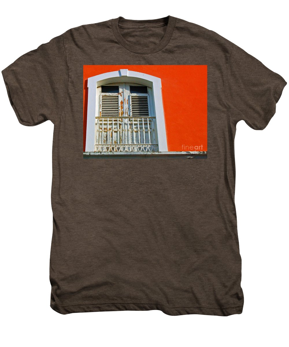 Shutters Men's Premium T-Shirt featuring the photograph Peel An Orange by Debbi Granruth