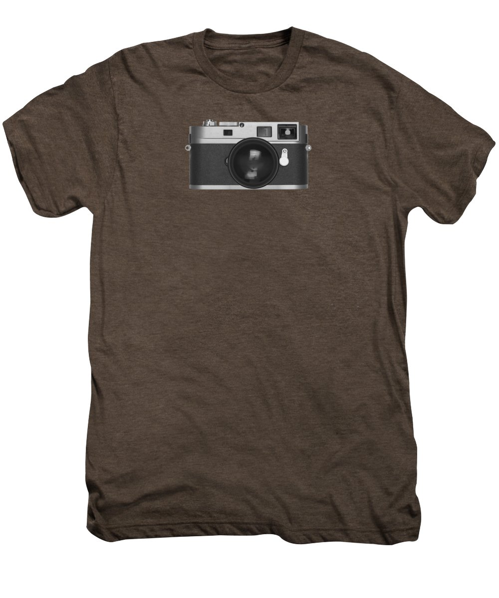 Analog Men's Premium T-Shirt featuring the photograph Rangefinder Camera by Setsiri Silapasuwanchai