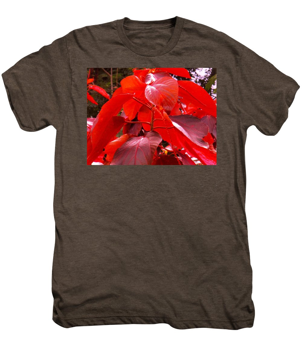 Red Men's Premium T-Shirt featuring the photograph Red by Ian MacDonald