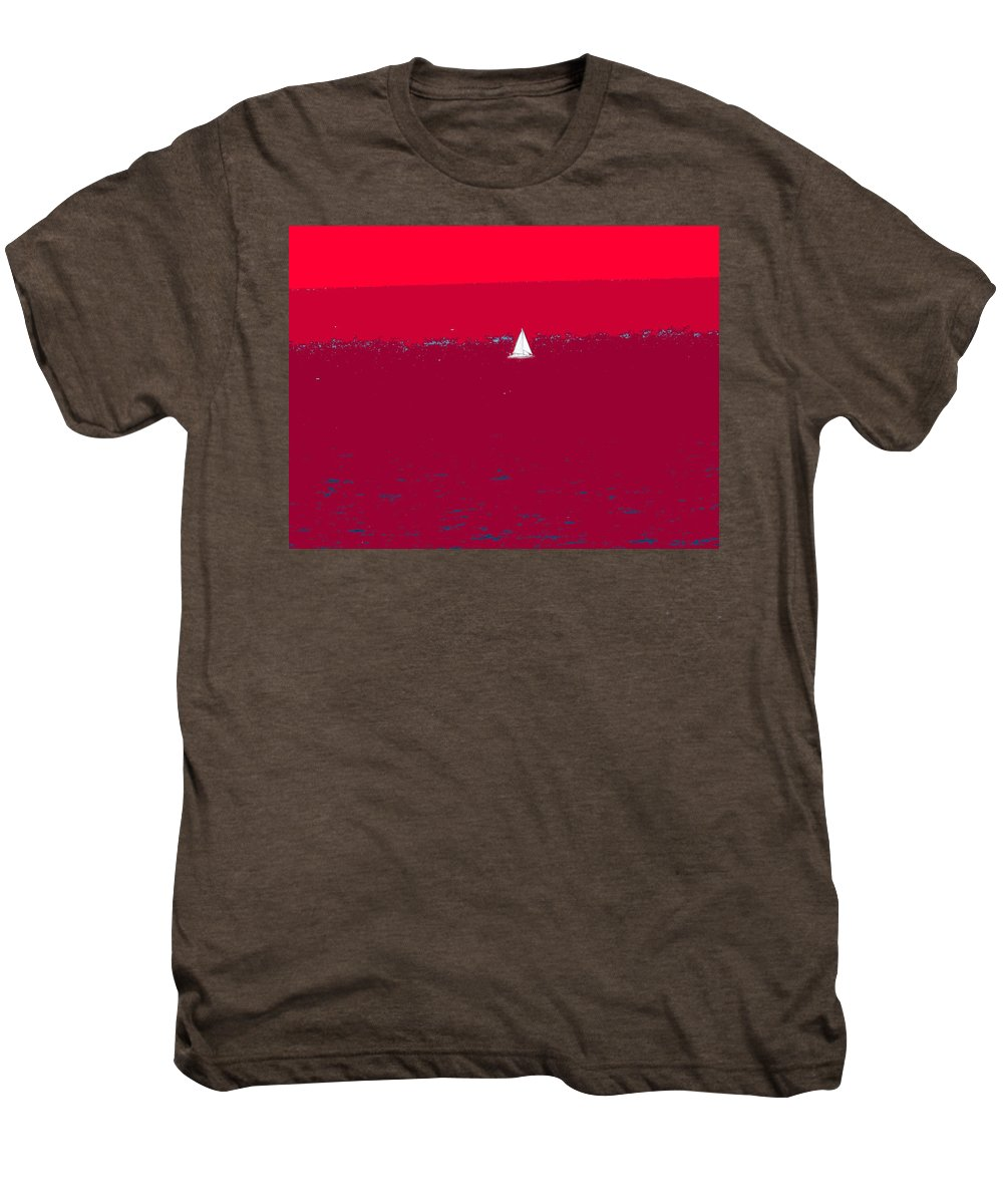 St Kitts Men's Premium T-Shirt featuring the photograph Red Sea by Ian MacDonald