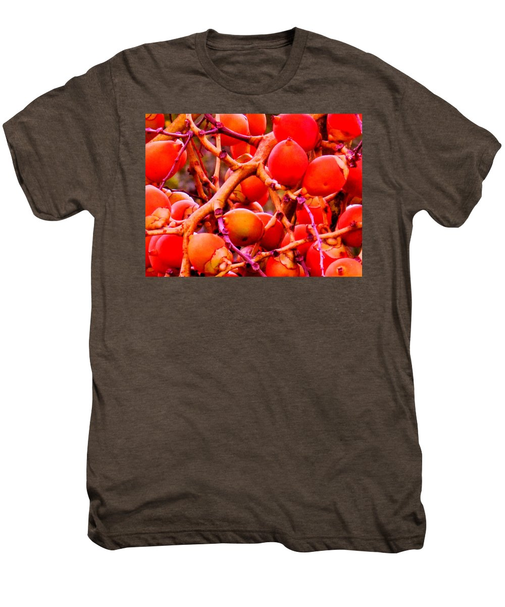 Red Men's Premium T-Shirt featuring the photograph Romney Red by Ian MacDonald