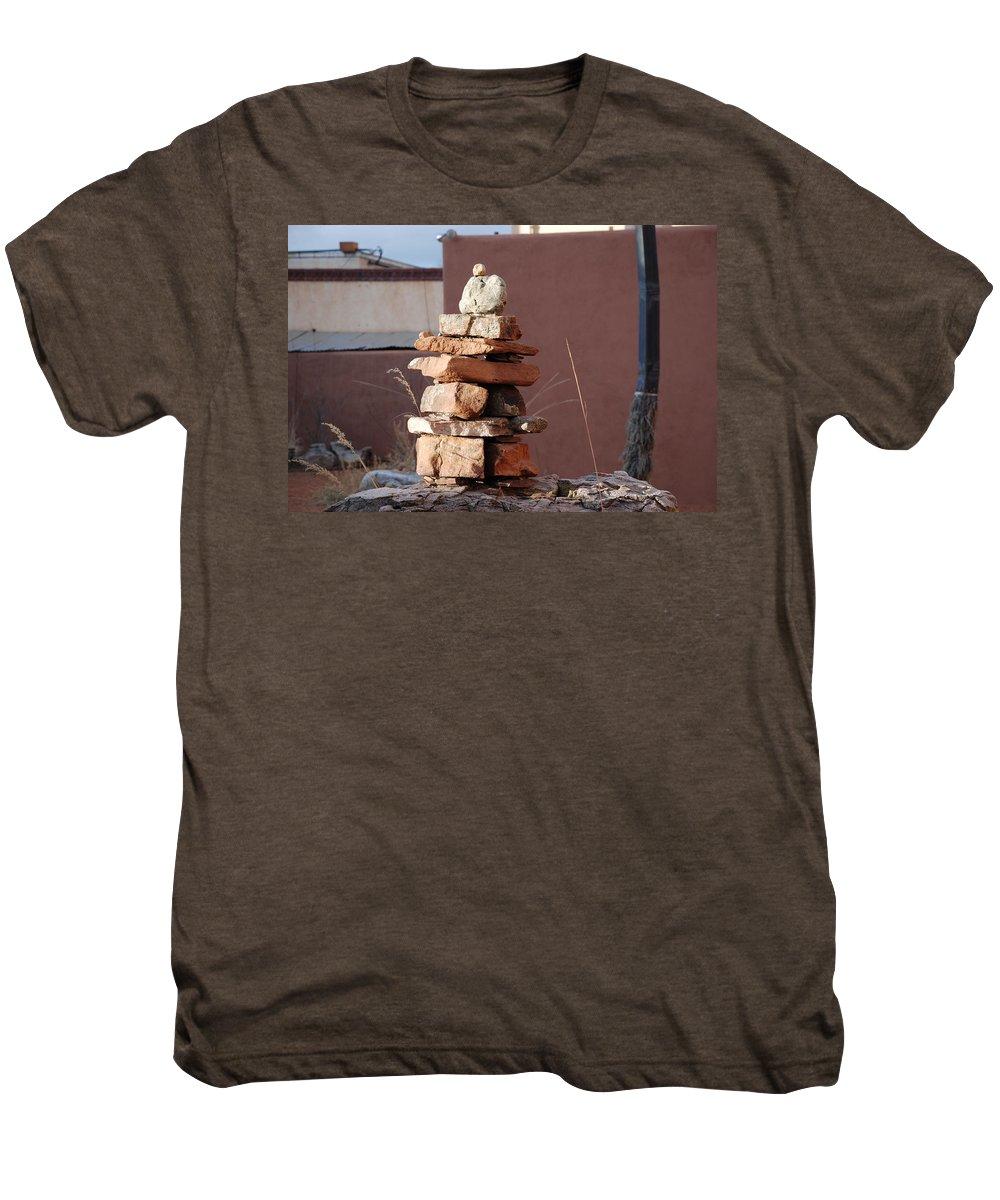 Pop Art Men's Premium T-Shirt featuring the photograph Sante Fe Rocks by Rob Hans