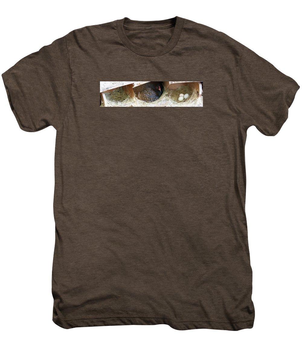 Digital Photography Artwork Men's Premium T-Shirt featuring the photograph The Coup by Laurie Kidd