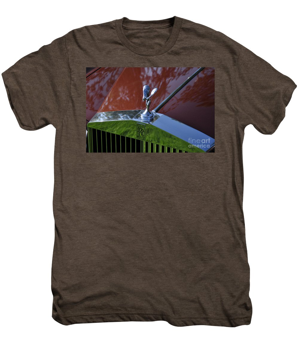 Clay Men's Premium T-Shirt featuring the photograph The Rolls by Clayton Bruster