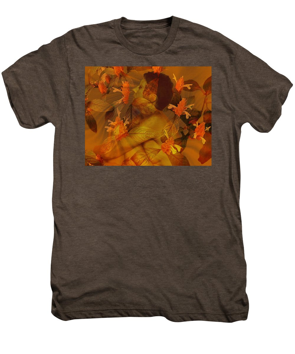 Nudes Men's Premium T-Shirt featuring the photograph Tranquility by Kurt Van Wagner