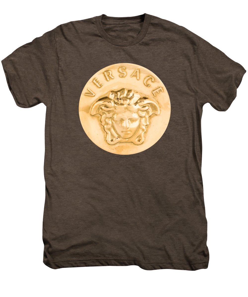 Versace Men's Premium T-Shirt featuring the painting Versace Jewelry-1 by Nikita
