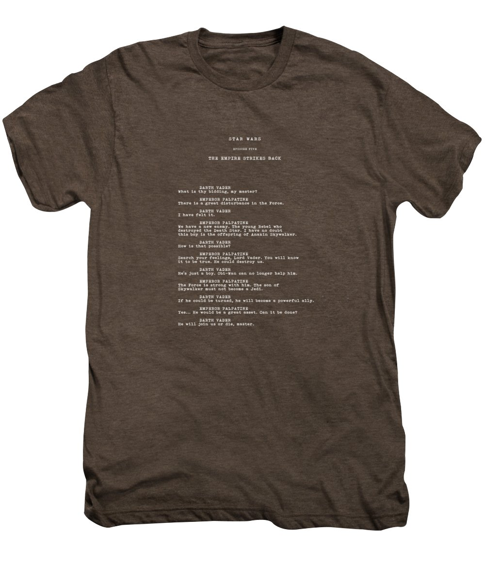 Star Wars Men's Premium T-Shirt featuring the photograph What Is Thy Bidding by Mark Rogan