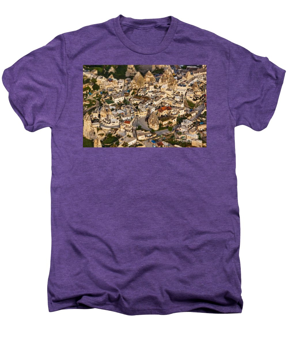 Miniature Men's Premium T-Shirt featuring the photograph Bedrock by Andrew Paranavitana