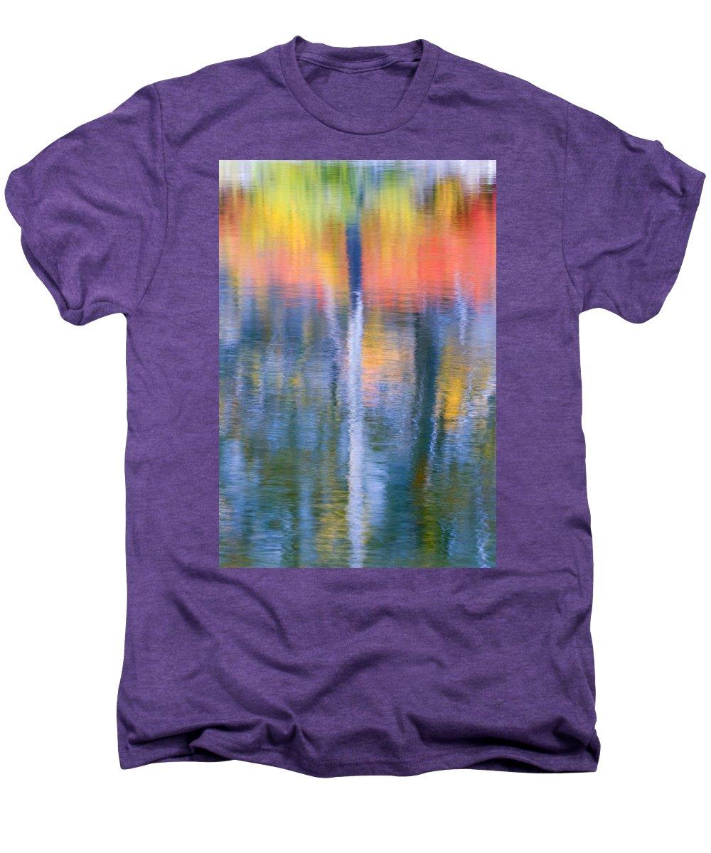 Reflection Men's Premium T-Shirt featuring the photograph Autumn Resurrection by Mike Dawson