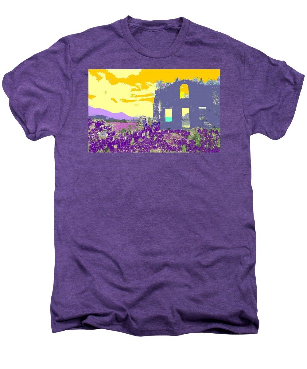Brimstone Men's Premium T-Shirt featuring the photograph Brimstone Sunset by Ian MacDonald