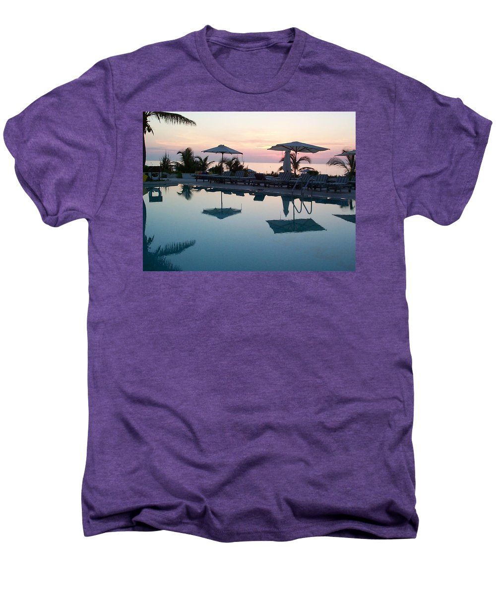 Charity Men's Premium T-Shirt featuring the photograph Columbus Isle by Mary-Lee Sanders