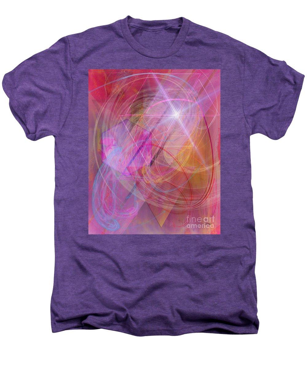 Dragon's Gem Men's Premium T-Shirt featuring the digital art Dragon's Gem by John Beck