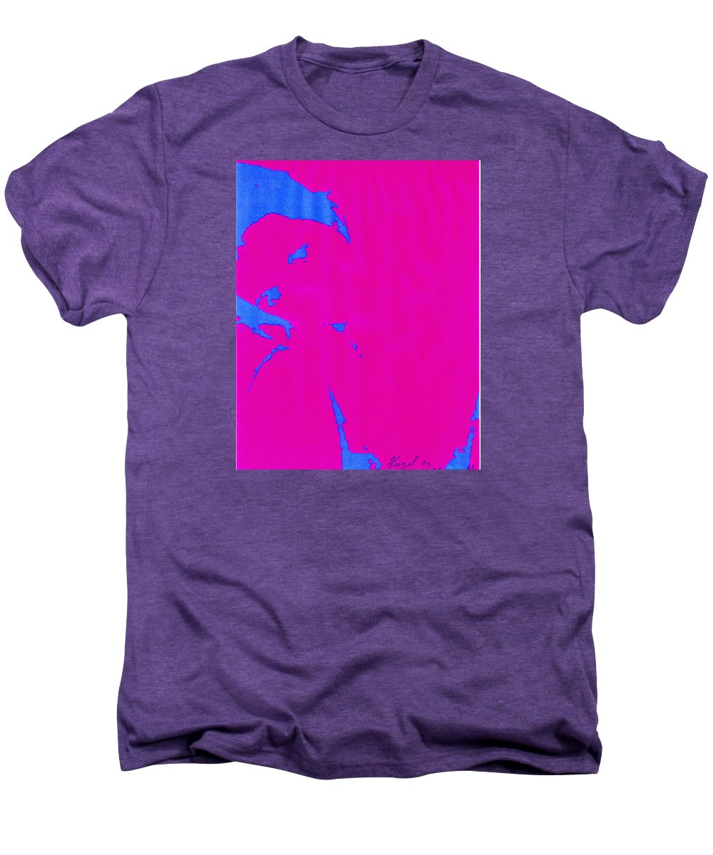 French Girl Men's Premium T-Shirt featuring the photograph Gisele A French Girl by Dawn Johansen