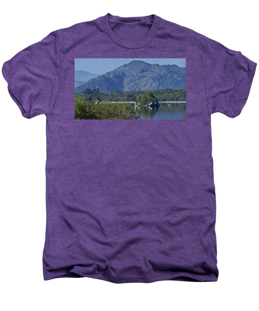 Irish Men's Premium T-Shirt featuring the photograph Loch Leanne Killarney Ireland by Teresa Mucha