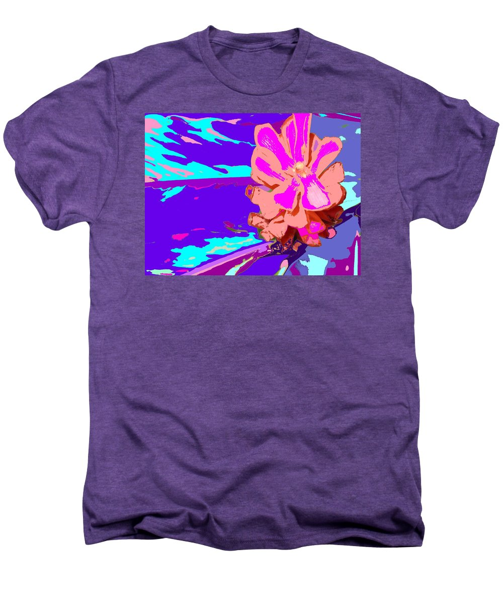 Flower Men's Premium T-Shirt featuring the photograph Mystical Flower by Ian MacDonald