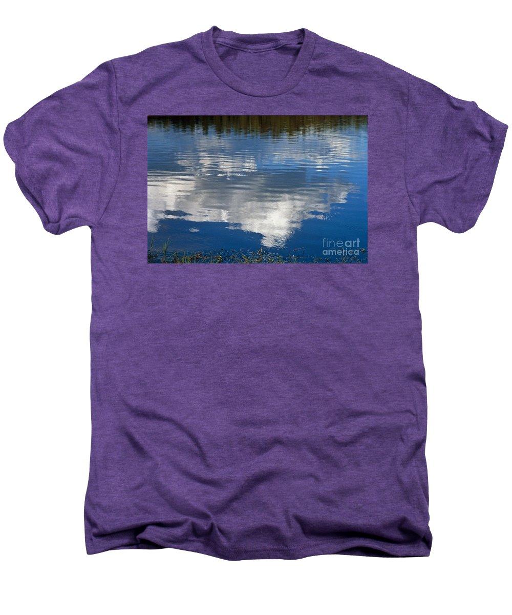 Landscape Men's Premium T-Shirt featuring the photograph Peace by Kathy McClure