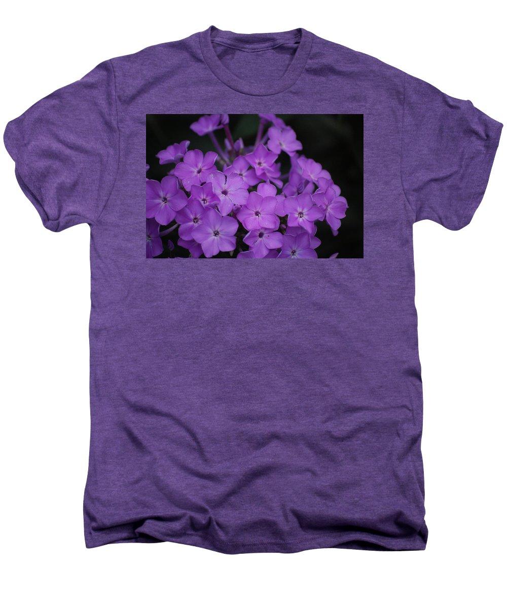 Digital Photo Men's Premium T-Shirt featuring the photograph Purple Blossoms by David Lane