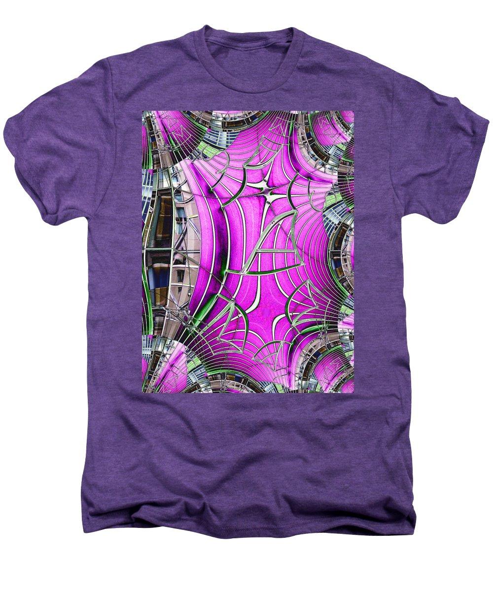 Seattle Men's Premium T-Shirt featuring the digital art Seattle Art Museum by Tim Allen