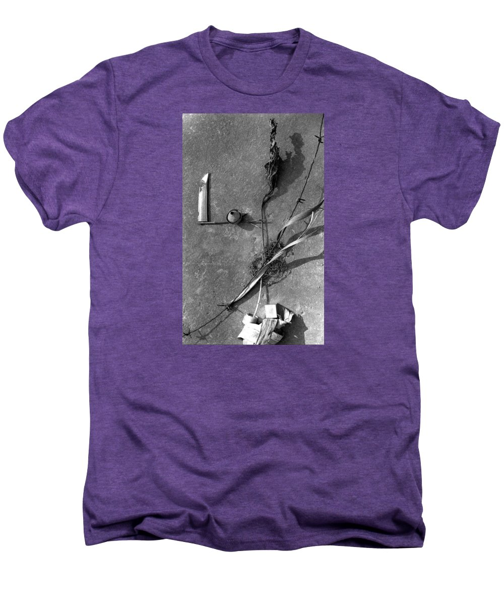 Still Life Men's Premium T-Shirt featuring the photograph Still Forms by Ted M Tubbs