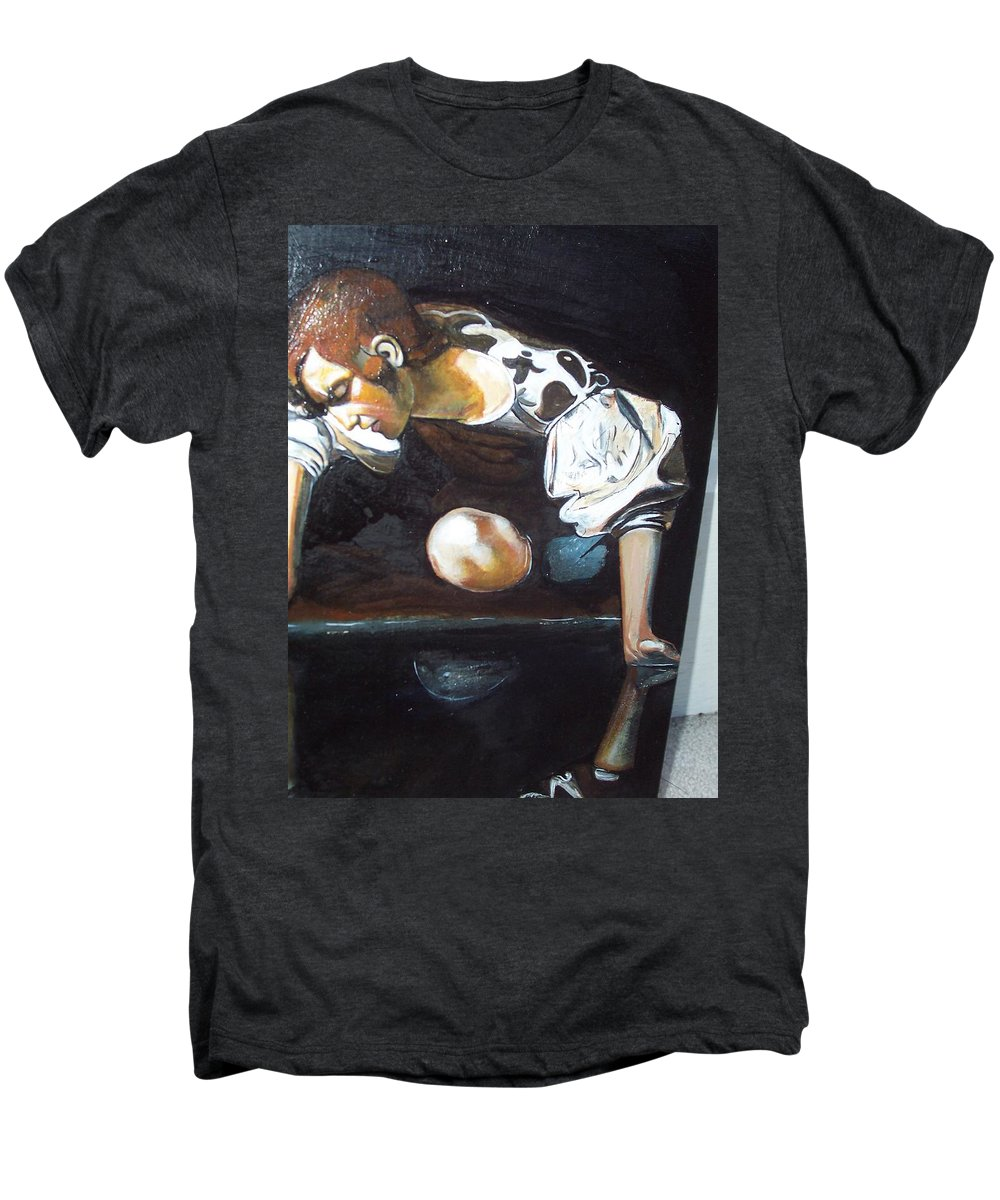Men's Premium T-Shirt featuring the painting Detail by Jude Darrien