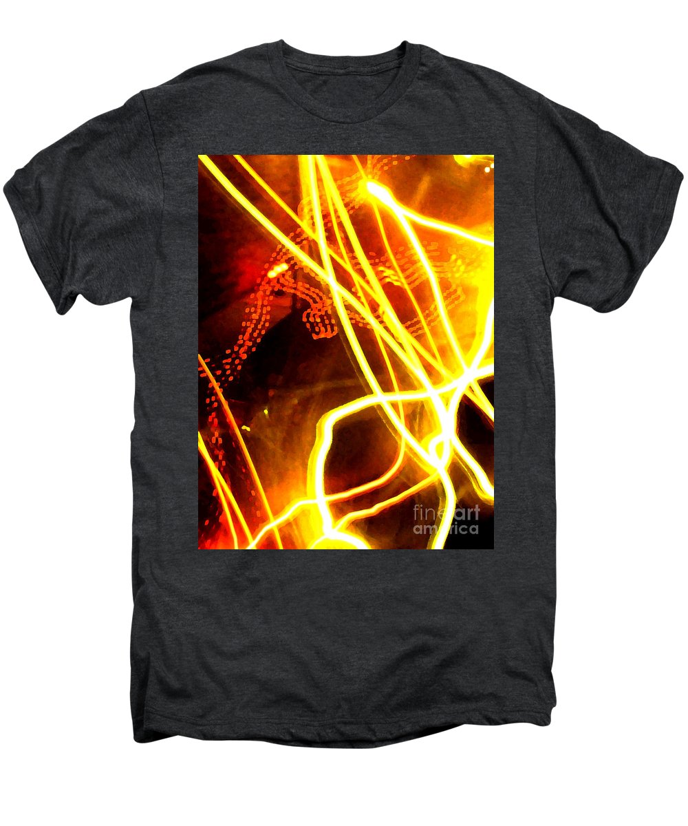 Abstract Men's Premium T-Shirt featuring the photograph Abstract by Amanda Barcon