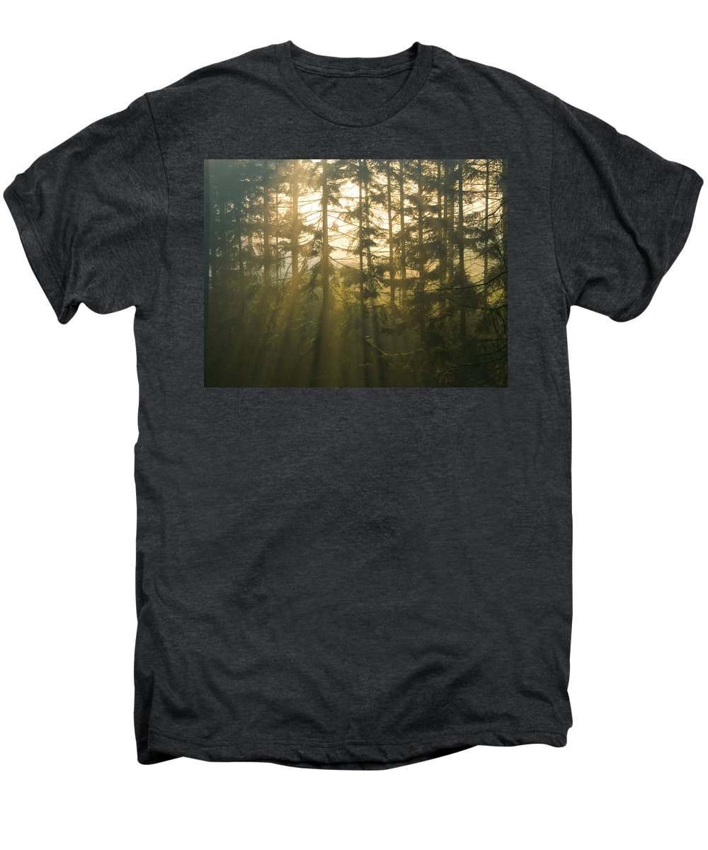 Light Men's Premium T-Shirt featuring the photograph Awe by Daniel Csoka