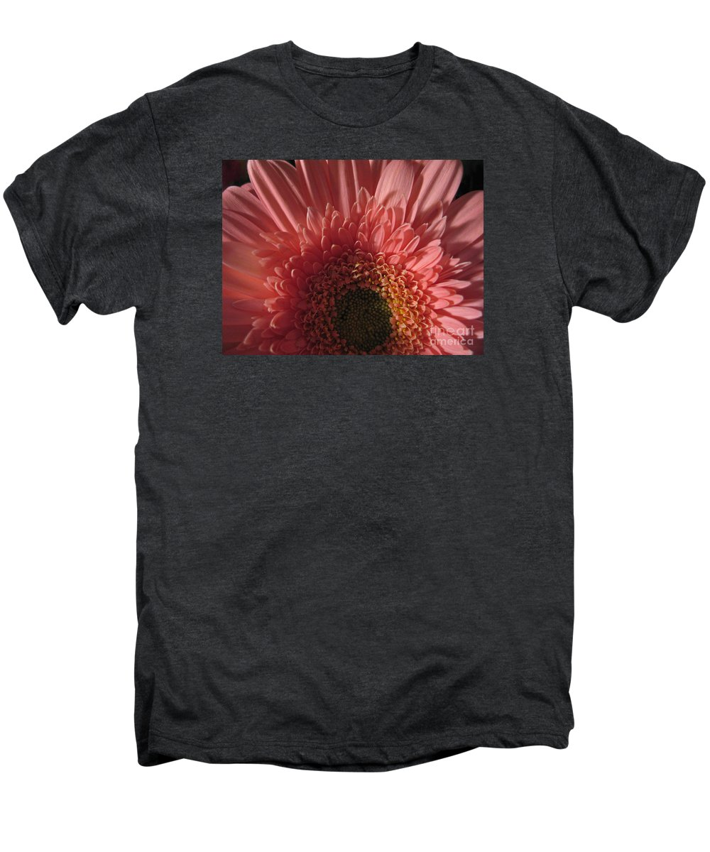 Flower Men's Premium T-Shirt featuring the photograph Dark Radiance by Ann Horn