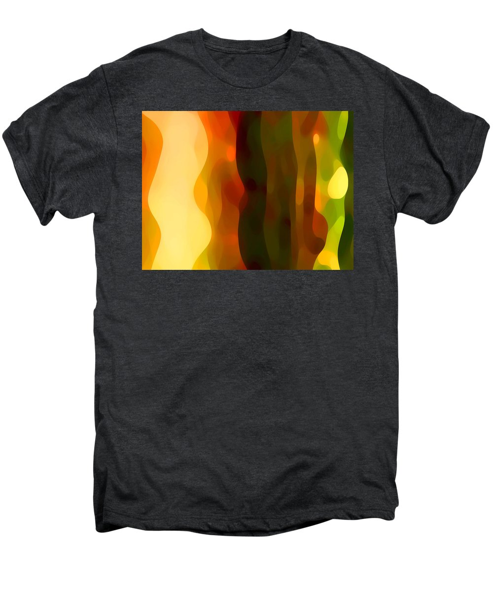Bold Men's Premium T-Shirt featuring the painting Desert Pattern 1 by Amy Vangsgard