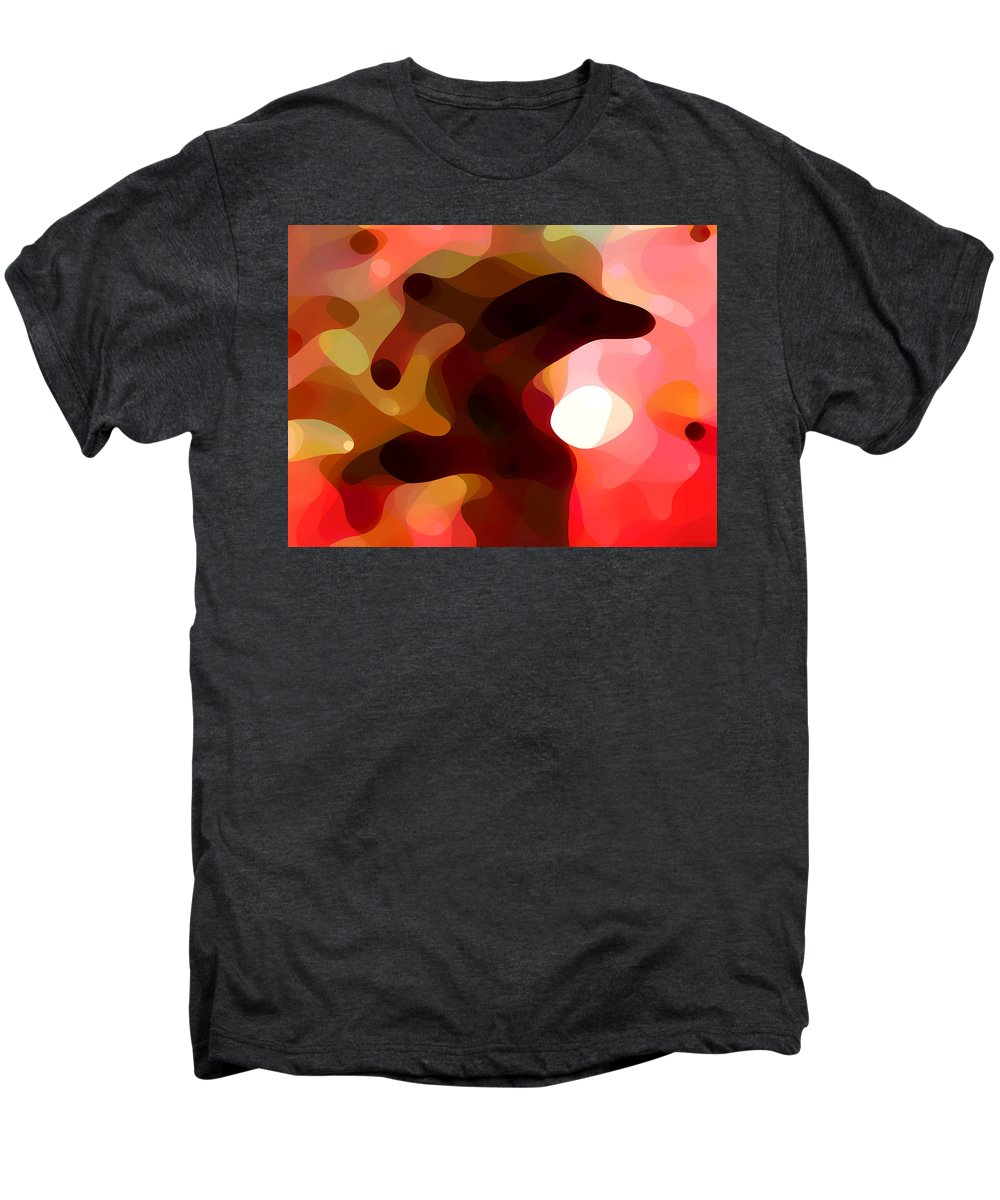 Bold Men's Premium T-Shirt featuring the painting Las Tunas by Amy Vangsgard