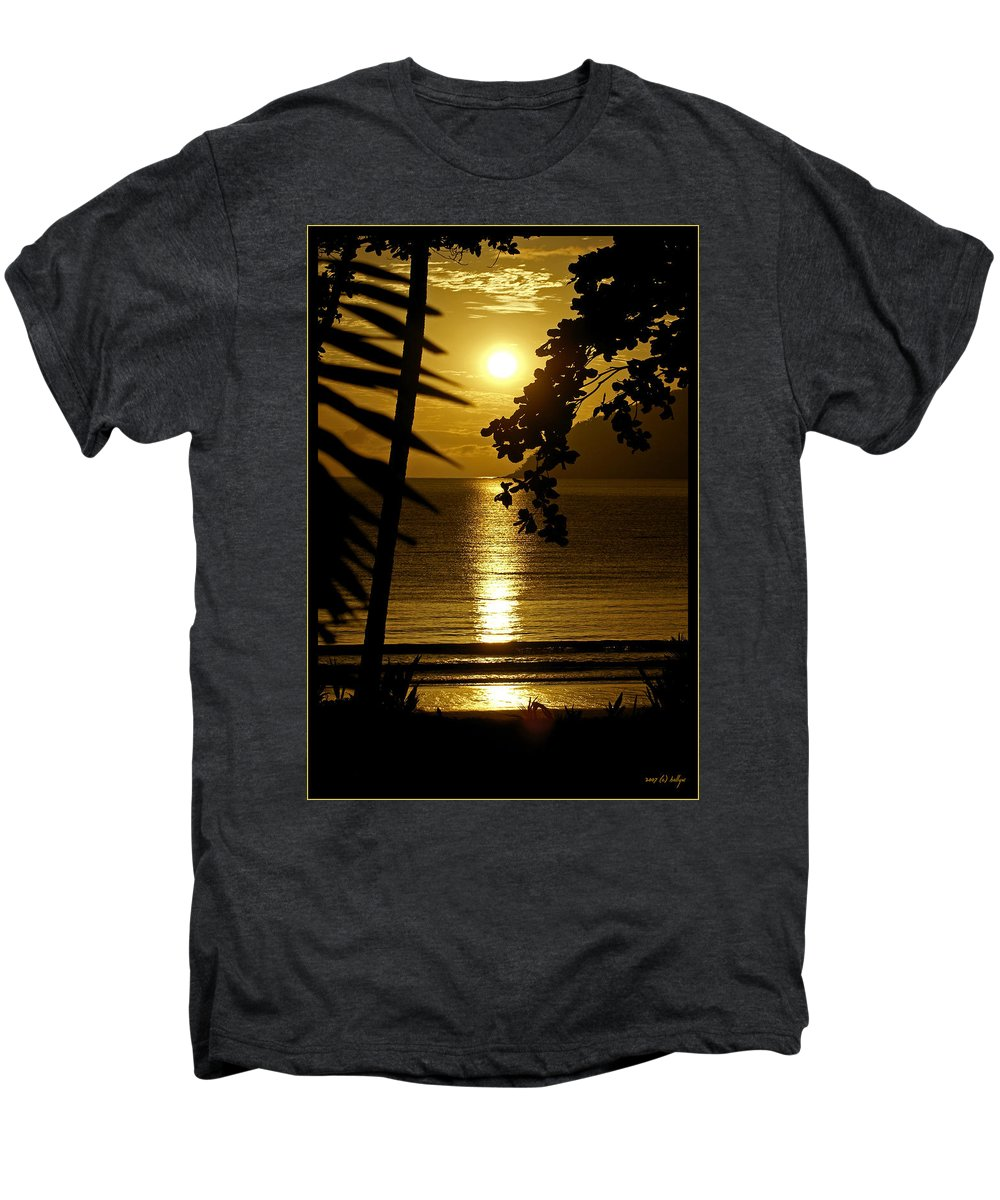 Landscapes Men's Premium T-Shirt featuring the photograph Shimmer by Holly Kempe