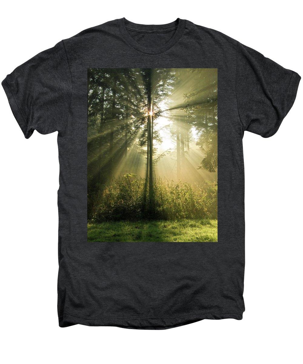 Nature Men's Premium T-Shirt featuring the photograph Splendour by Daniel Csoka