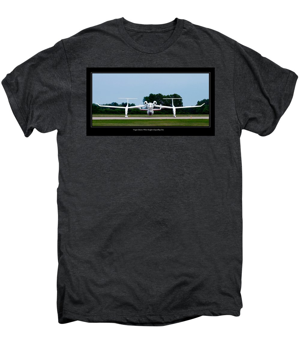 3scape Photos Men's Premium T-Shirt featuring the photograph White Knight by Adam Romanowicz