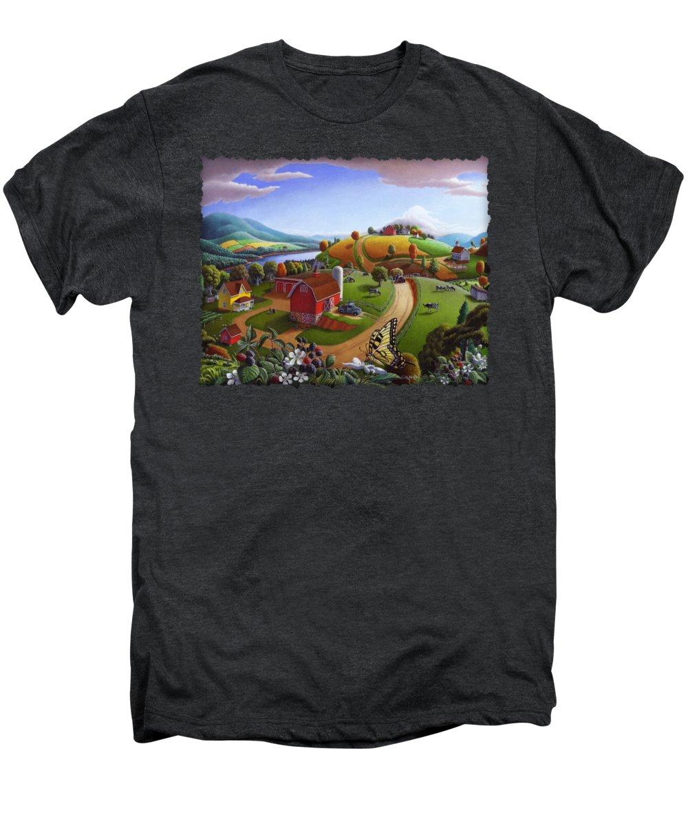 Rural Scenes Premium T-Shirts