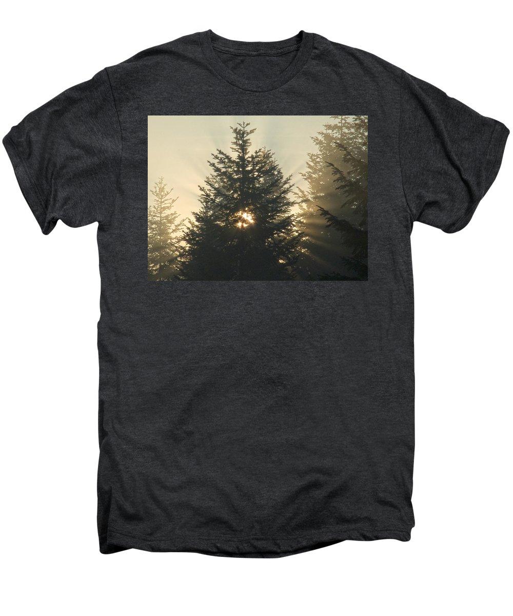Nature Men's Premium T-Shirt featuring the photograph Dawn by Daniel Csoka