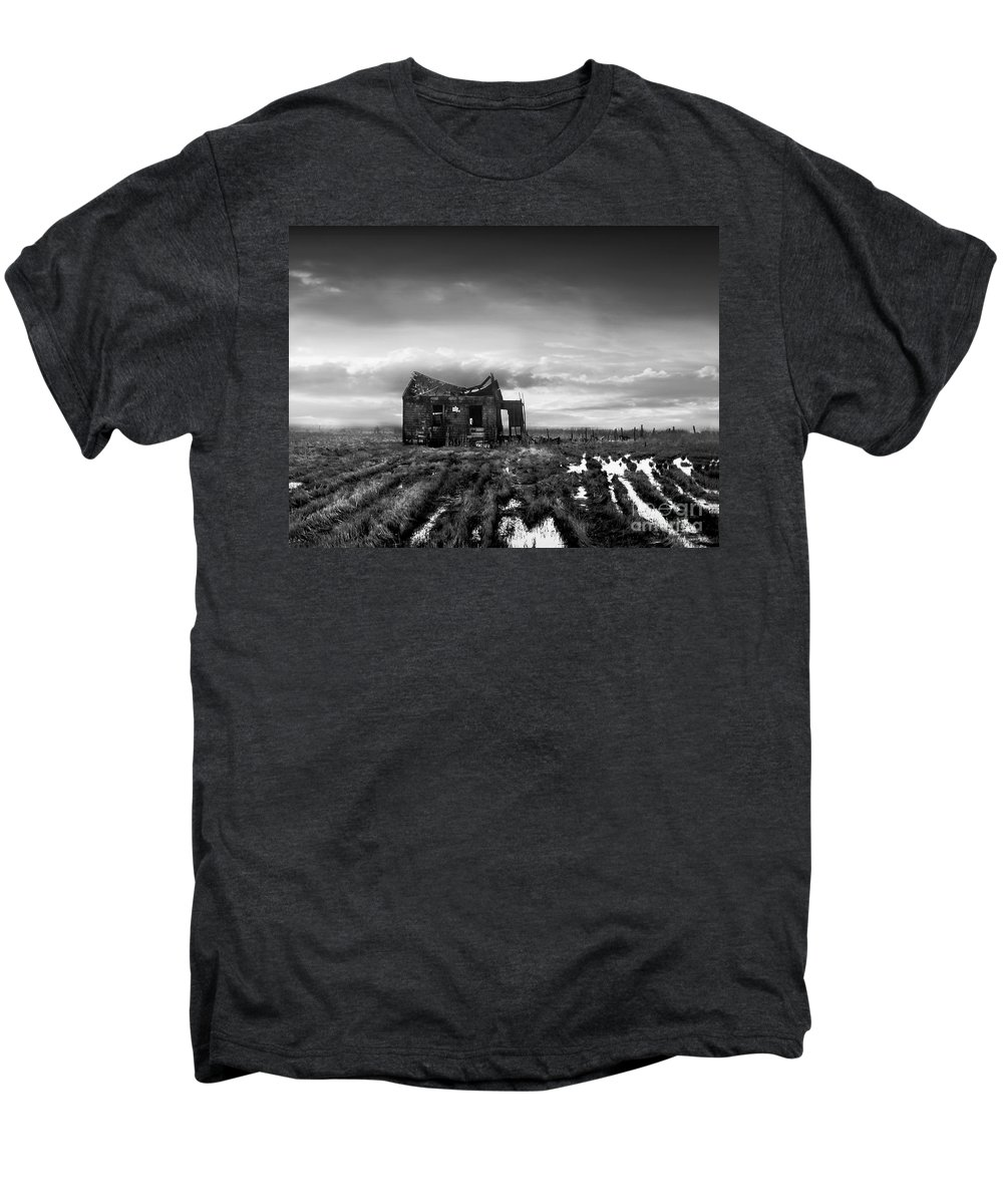 Architecture Men's Premium T-Shirt featuring the photograph The Shack by Dana DiPasquale