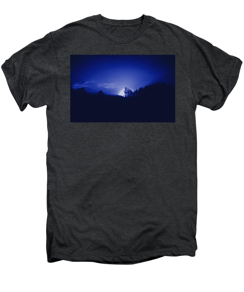 Sky Men's Premium T-Shirt featuring the photograph Where The Smurfs Live 2 by Max Mullins