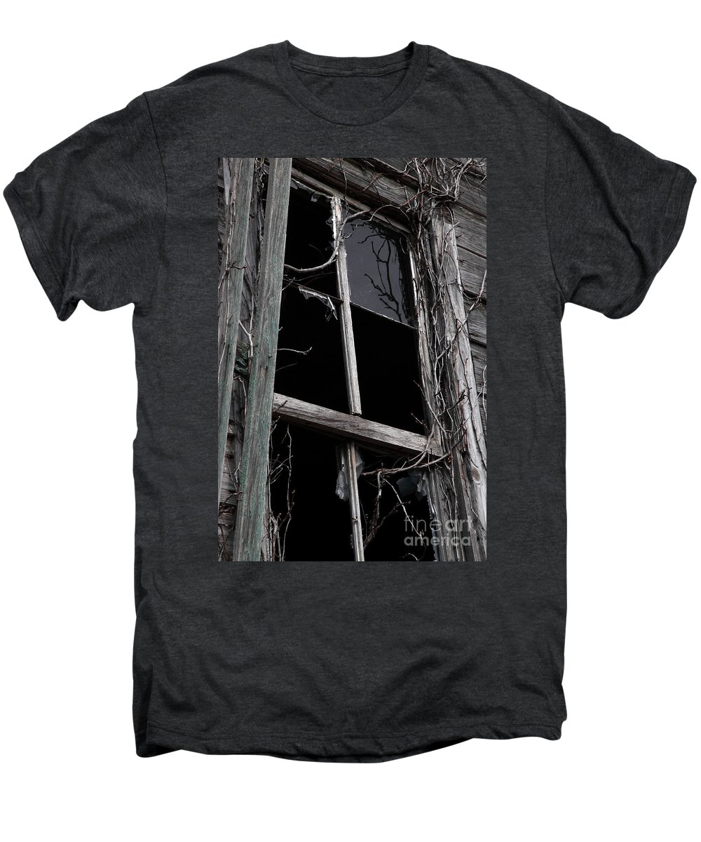 Windows Men's Premium T-Shirt featuring the photograph Window by Amanda Barcon