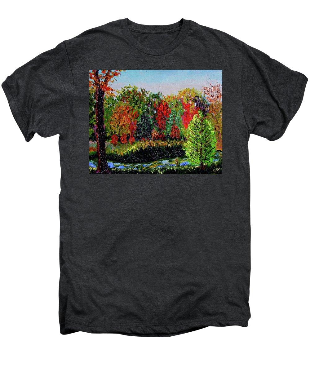 Plein Air Men's Premium T-Shirt featuring the painting Sewp 10 10 by Stan Hamilton