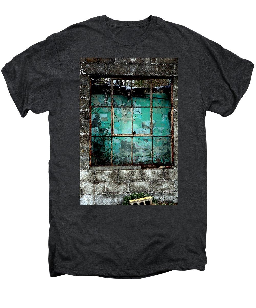 Windows Men's Premium T-Shirt featuring the photograph Window by Amanda Barcon