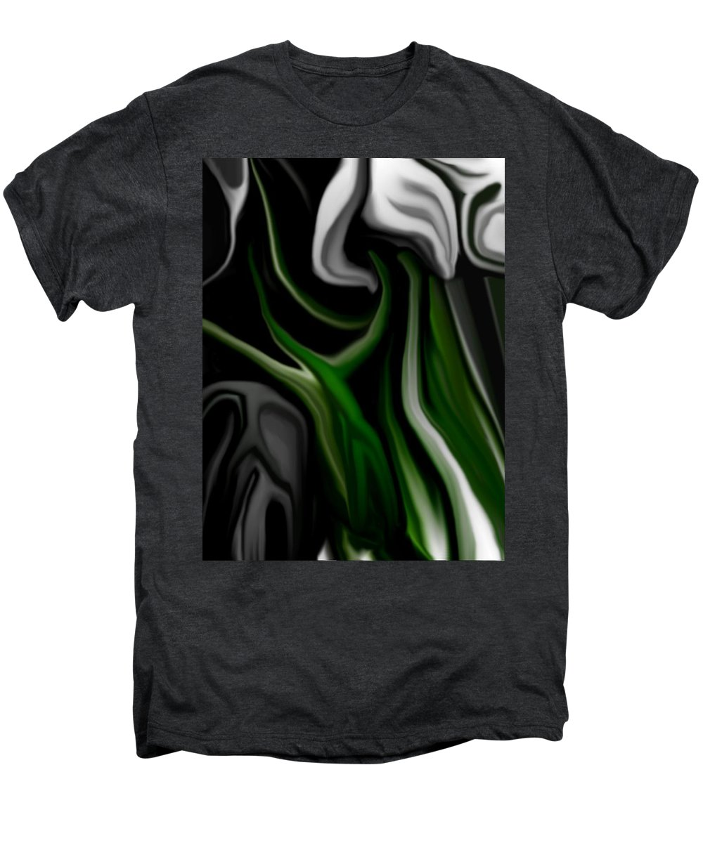 Abstract Men's Premium T-Shirt featuring the digital art Abstract309h by David Lane