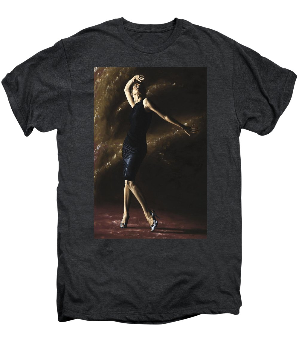 Dance Men's Premium T-Shirt featuring the painting After The Dance by Richard Young