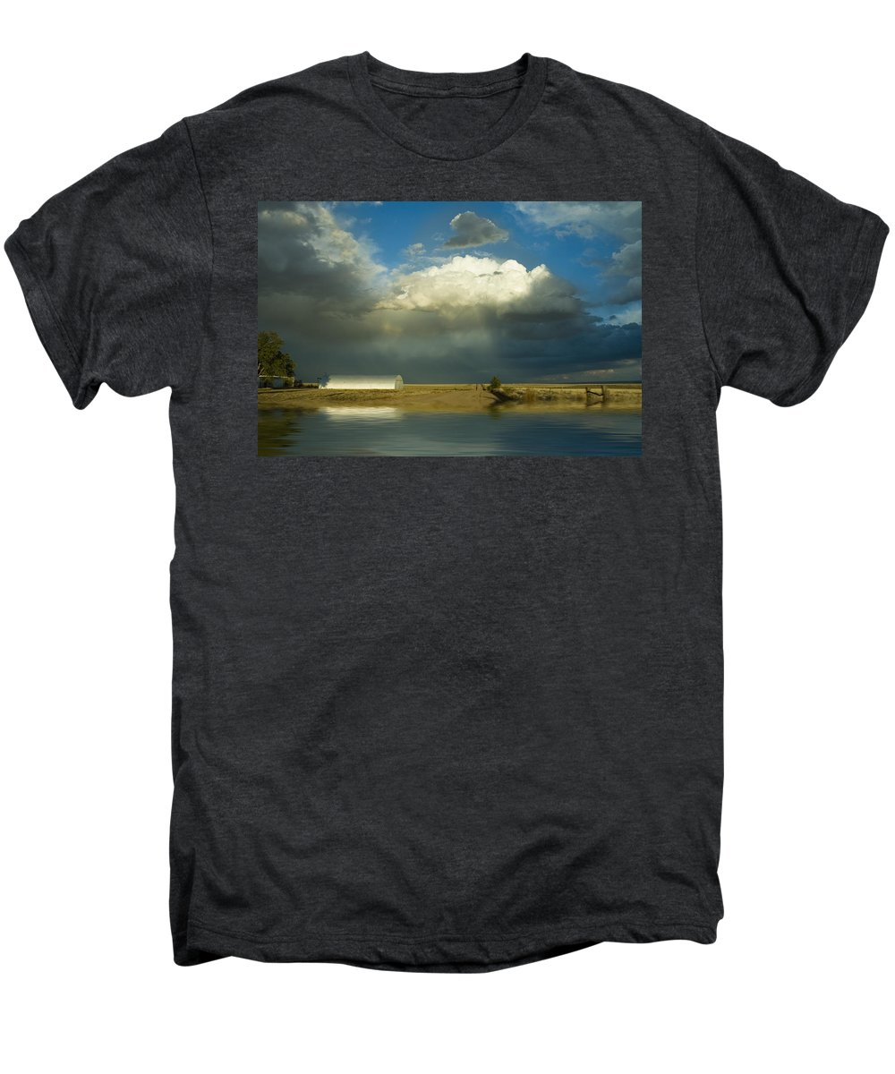 Storm Men's Premium T-Shirt featuring the photograph After The Storm by Jerry McElroy
