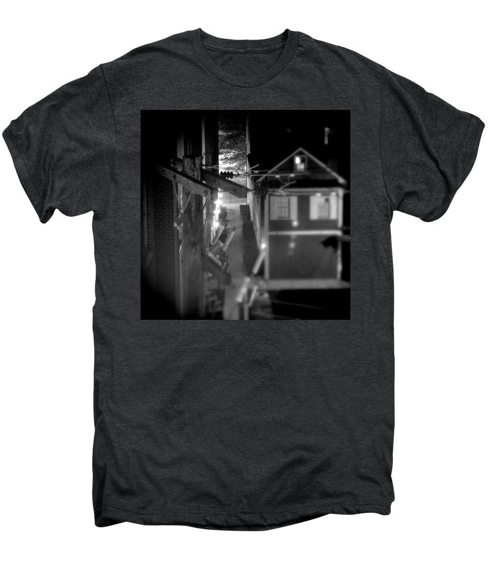 Alley Men's Premium T-Shirt featuring the photograph Alley To High by Jean Macaluso