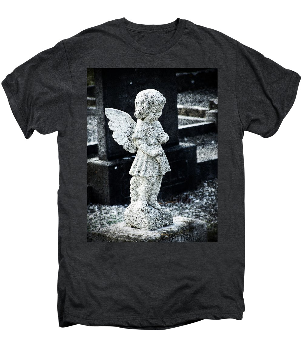 Ireland Men's Premium T-Shirt featuring the photograph Angel In Roscommon No 3 by Teresa Mucha