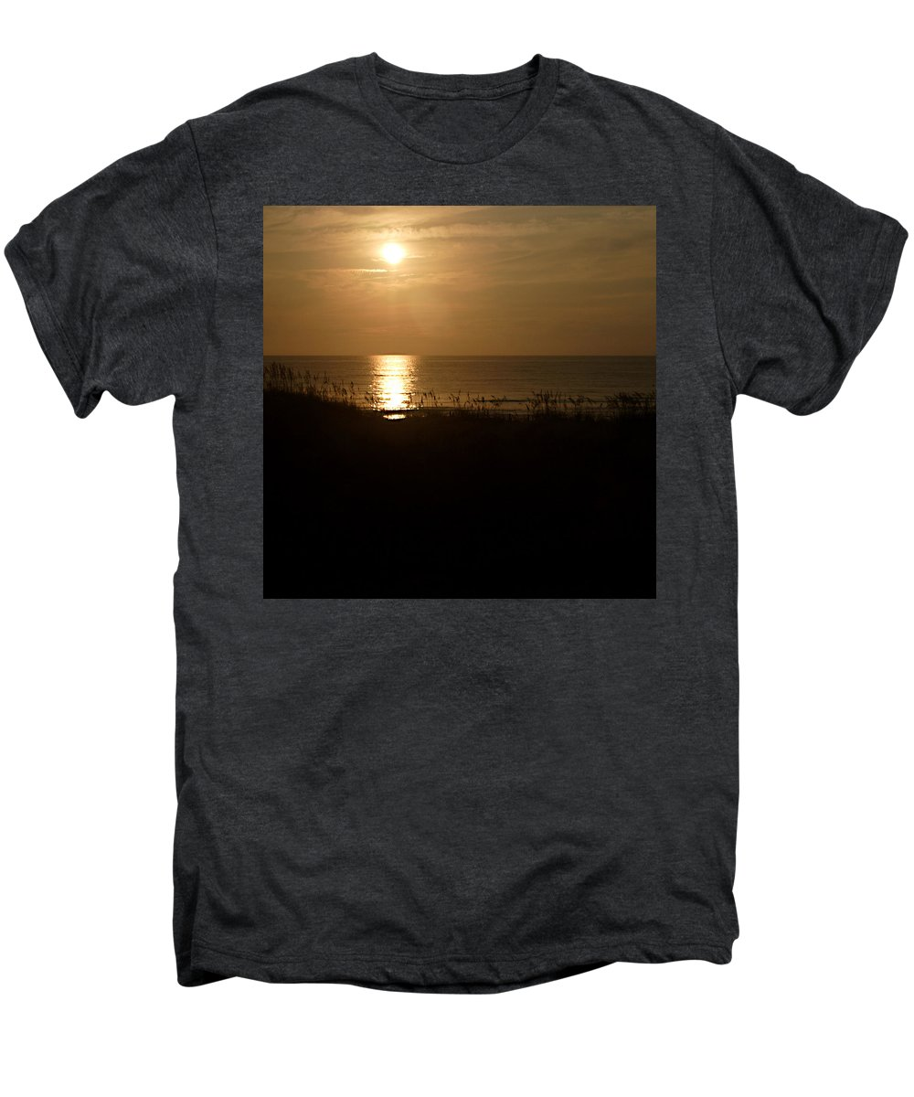 Color Men's Premium T-Shirt featuring the photograph Another Day Ends by Jean Macaluso
